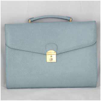 """Женский портфель """"Lady Briefcase"""" (голубой)"""