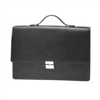 Папка-портфель черная