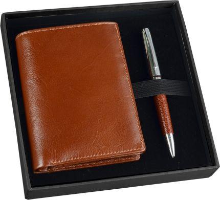 Подарочный набор William Lloyd: портмоне, ручка шариковая