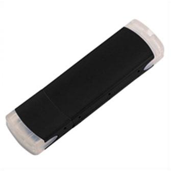 """USB-Flash накопитель (флешка) """"ORDO"""",  4 Gb, алюминиевый корпус, пластиковые вставки, черный"""