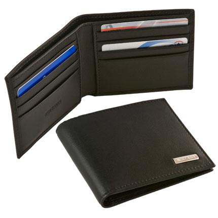 Бумажник мужской Neri Karra (шильд), черный