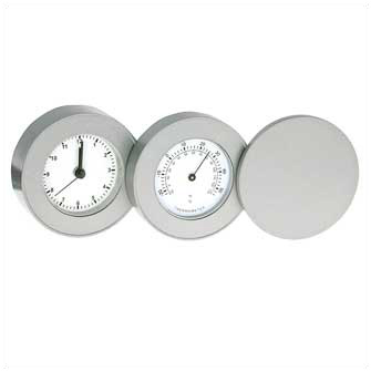 """Часы """"Orion I"""" с термометром (матовые)"""