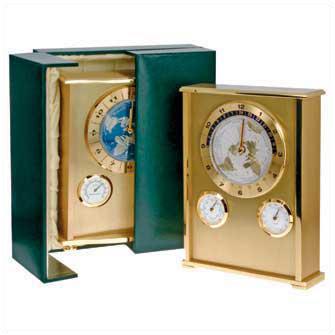 """Часы-метеостанция """"Westend II"""" gold / blue dial"""