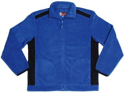 """Флисовая куртка """"Alabama"""", цвет классический синий-черный, размер S"""