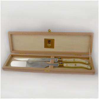 Набор для фуа-гра из 2 предметов в подарочной коробке